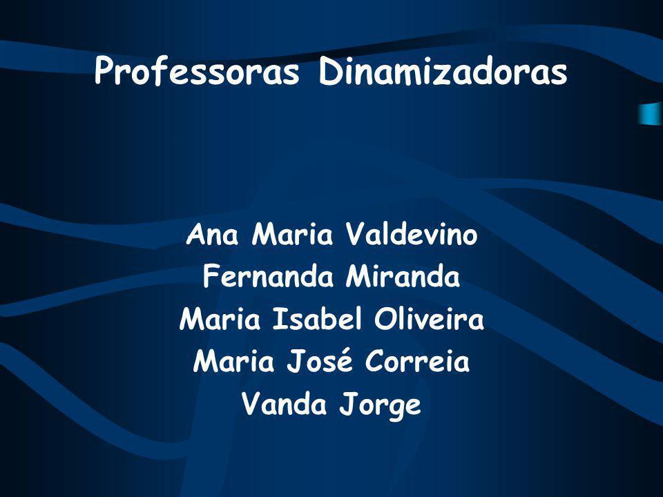 Professoras Dinamizadoras Ana Maria Valdevino Fernanda Miranda Maria Isabel Oliveira Maria José Correia Vanda Jorge