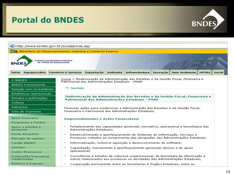 19 Portal do BNDES