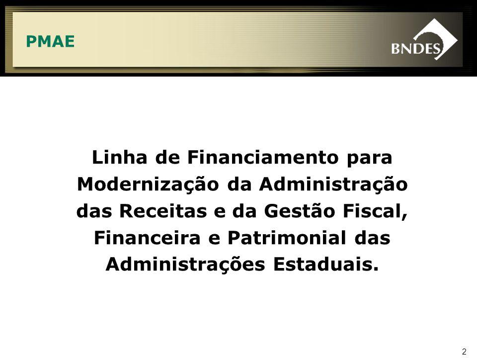 2 Linha de Financiamento para Modernização da Administração das Receitas e da Gestão Fiscal, Financeira e Patrimonial das Administrações Estaduais. PM