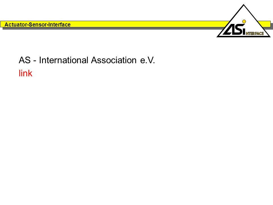 Actuator-Sensor-Interface AS - International Association e.V. link
