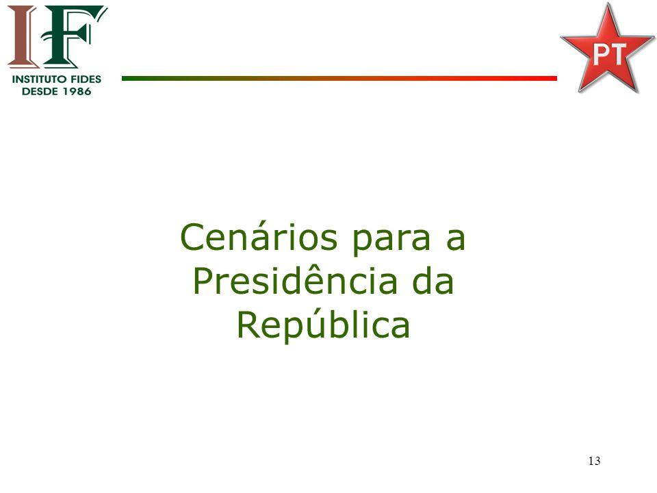 13 Cenários para a Presidência da República