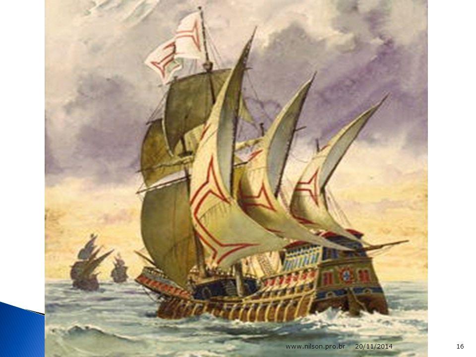  A grande novidade deste navio foi a utilização das velas triangulares em mar aberto, as quais permitiam que a caravela avançasse em zig- zag mesmo com ventos contrários.