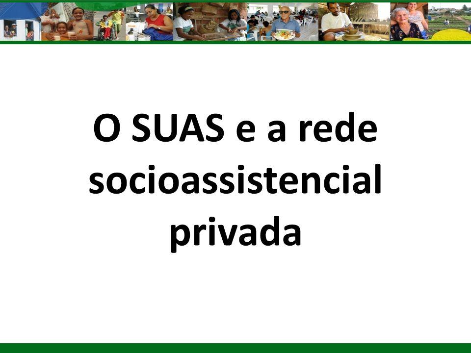 O SUAS e a rede socioassistencial privada