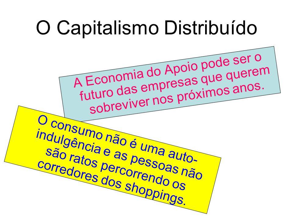O Capitalismo Distribuído A Economia do Apoio pode ser o futuro das empresas que querem sobreviver nos próximos anos.