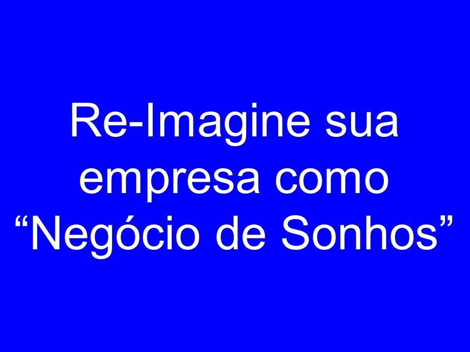 Re-Imagine sua empresa como Negócio de Sonhos