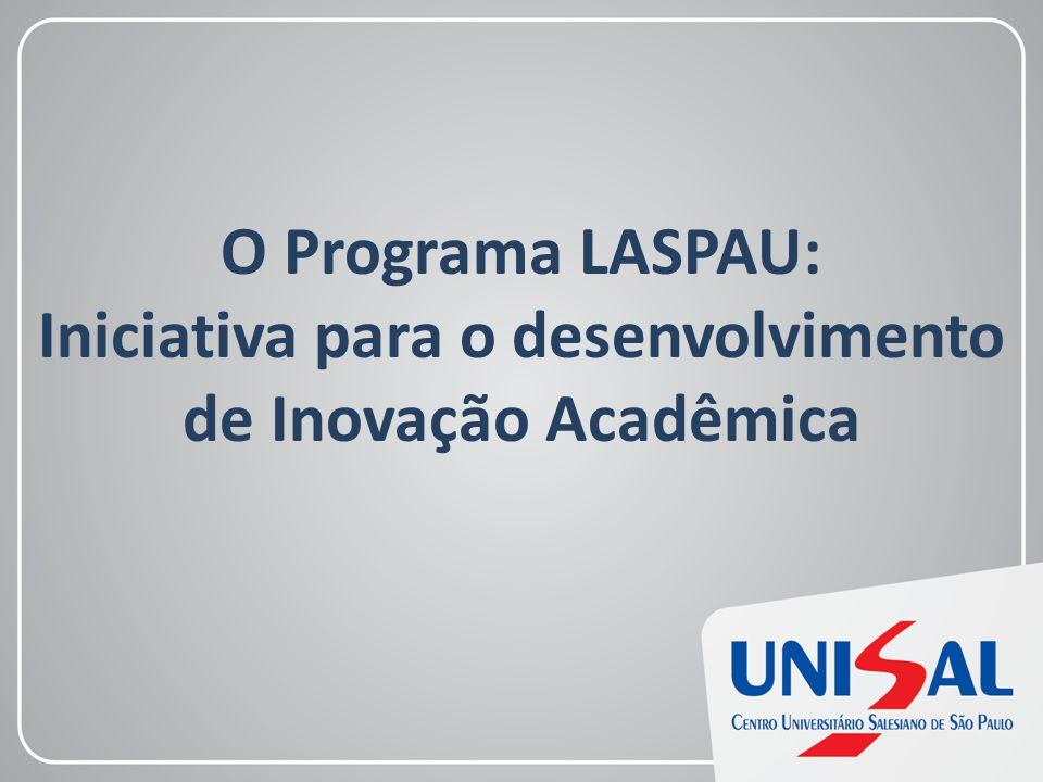 O Programa LASPAU: Iniciativa para o desenvolvimento de Inovação Acadêmica