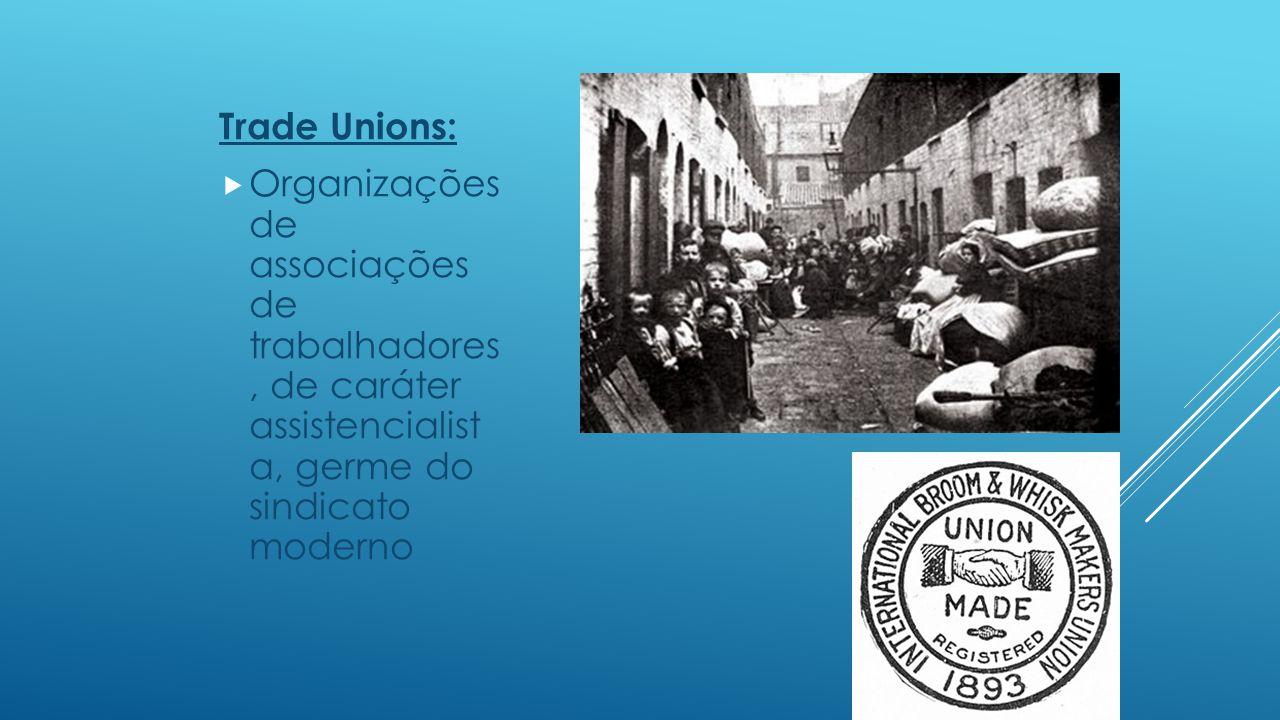 Sindicatos:  A definição de sindicato varia, de acordo com o tempo e as condições políticas, razão pela qual, para alguns estudiosos, o sindicato é a coalizão permanente para a luta de classe e, para outros, é o órgão destinado a solucionar o problema social.