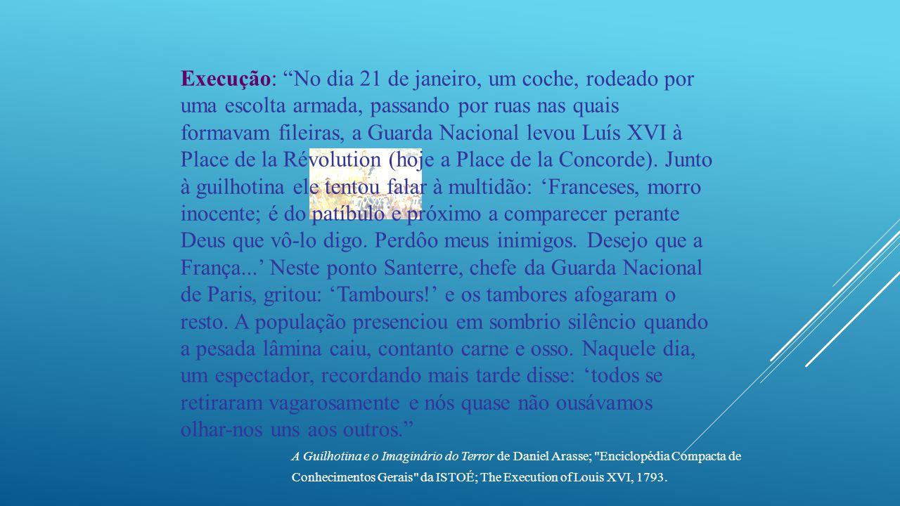  Jun/1793 – Jul/1794: Jacobinos no poder. Radicalismo.