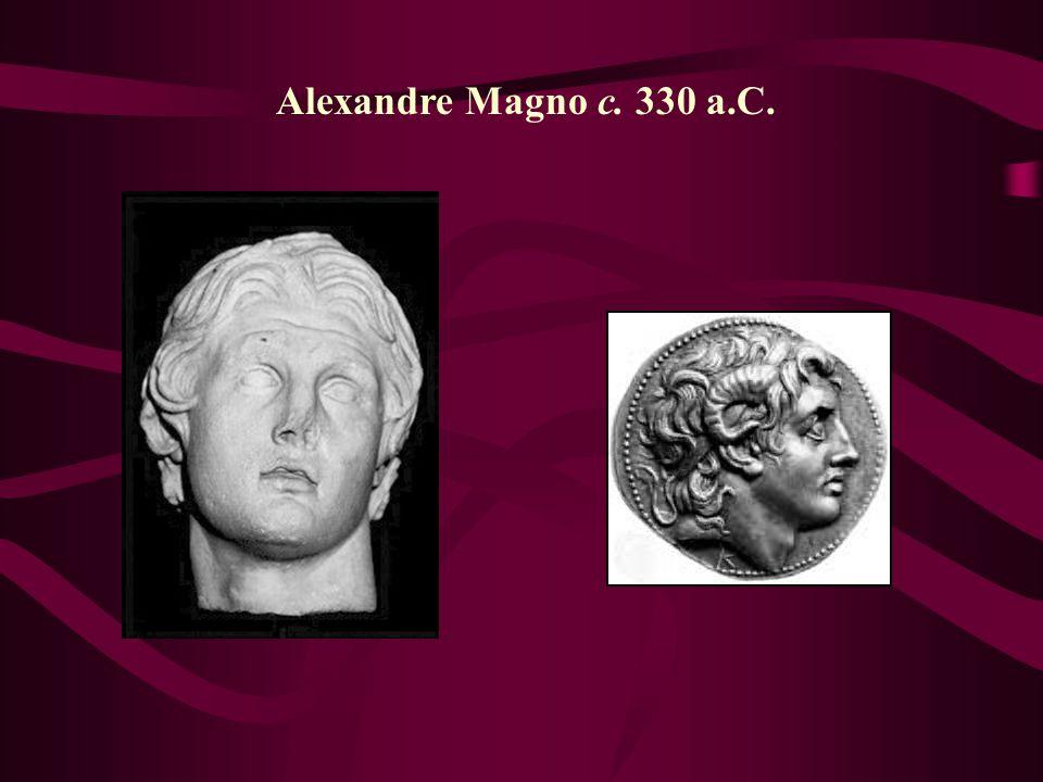 Alexandre Magno c. 330 a.C.