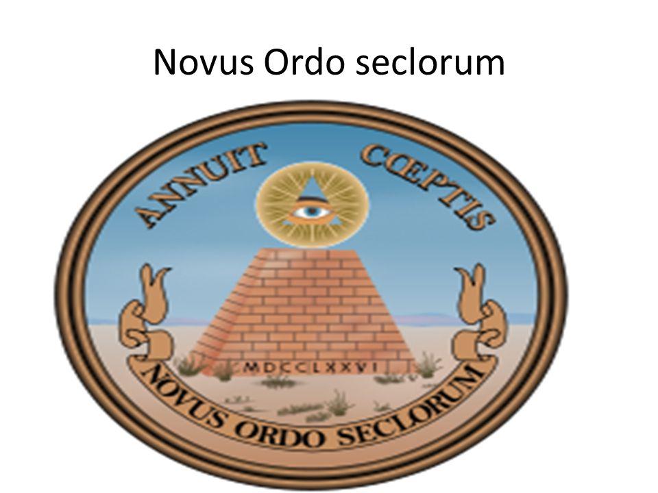 Novus ordem seclorum no US dólar