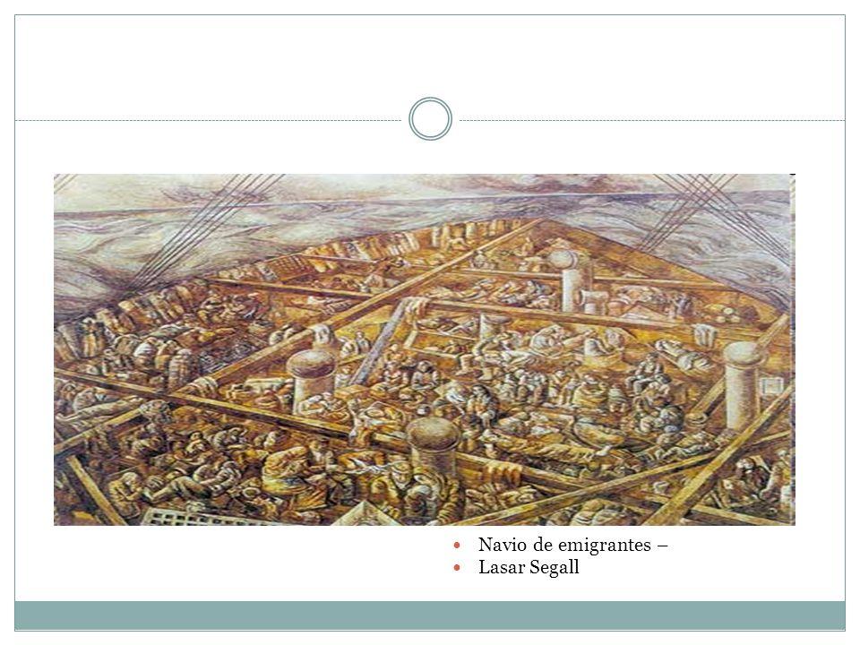 Navio de emigrantes – Lasar Segall