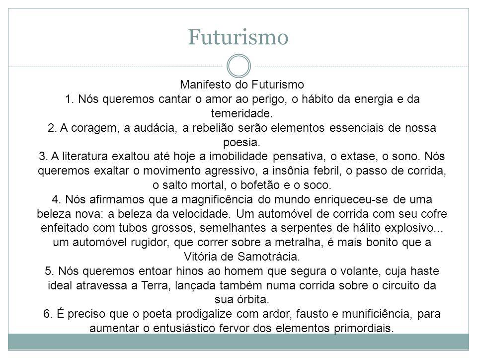 Manifesto do Futurismo 1.