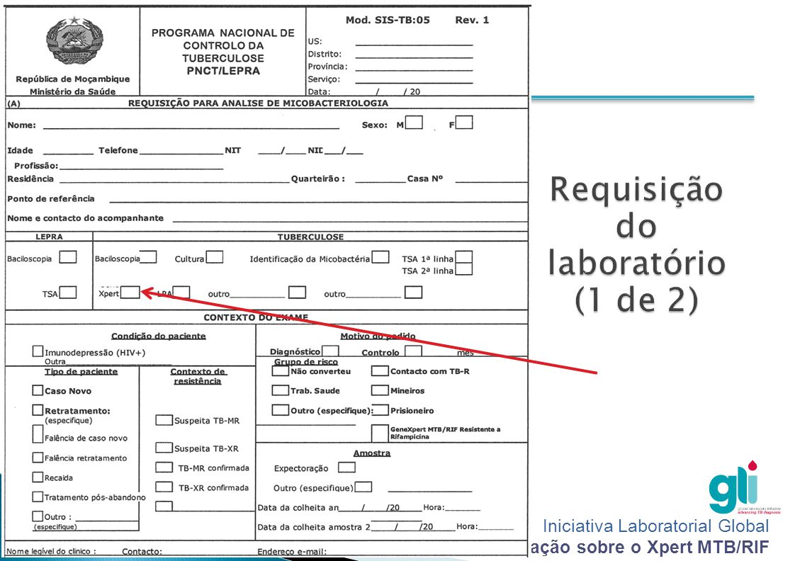 Iniciativa Laboratorial Global Pacote de formação sobre o Xpert MTB/RIF -18-