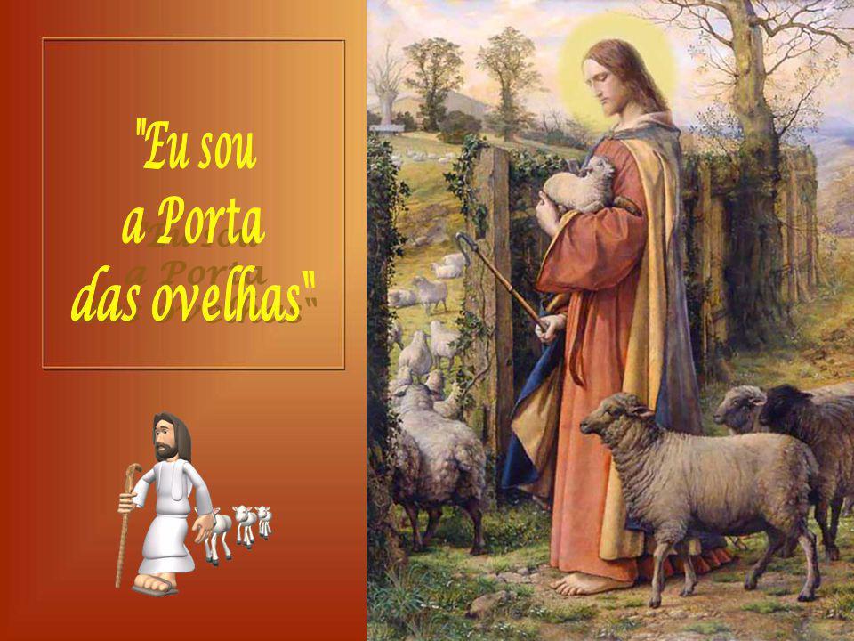 + As ovelhas devem escutar a voz do Pastor e segui-lo… Isso significa aderir a Jesus, percorrer o mesmo caminho dele, na entrega total aos projetos de Deus e na doação total aos irmãos.