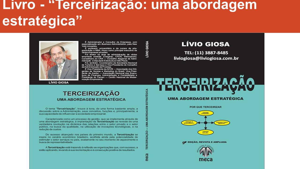 Livro - Terceirização: uma abordagem estratégica