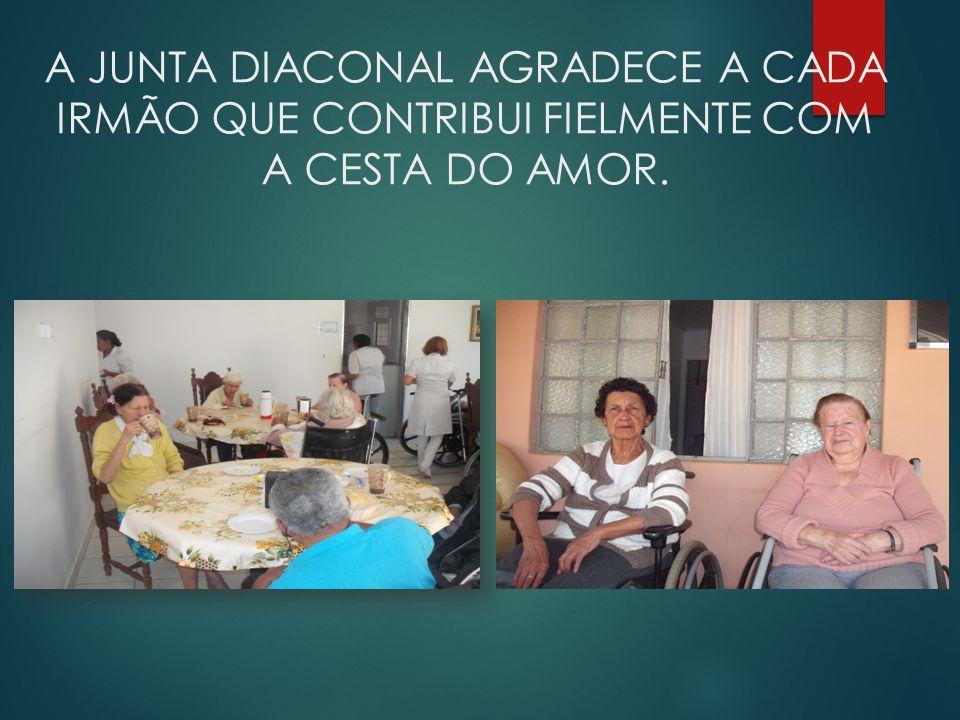 A IPSAT tem auxiliado com CESTAS BASICAS e doações ao LAR BETEL.