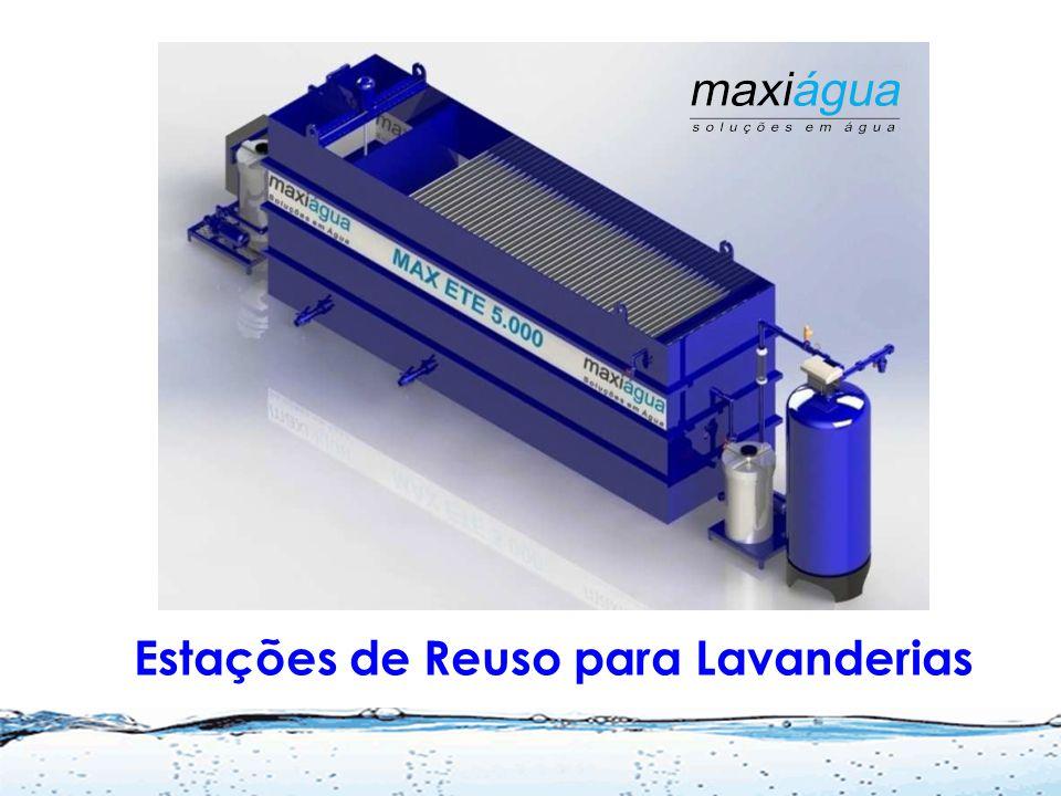 Sistema de Ultrafiltração para reuso de água cinza Tratamento de água de chuva