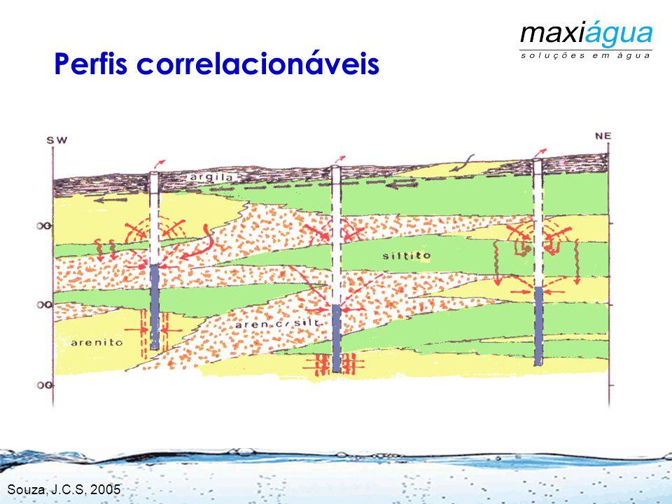 Lins Jaú São Paulo Oceano Rio Paraná Pereira Barreto Rio Tiete Araçatuba Seção Geológica esquemática do Estado de São Paulo SE-NW