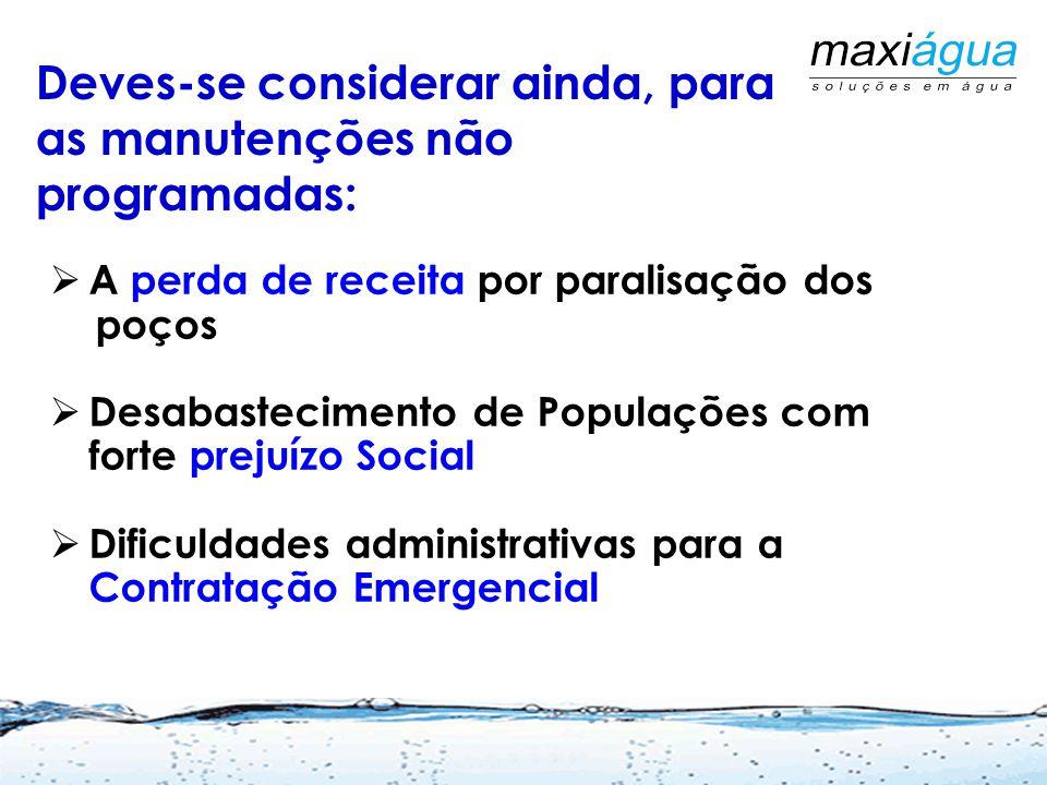 As Manutenções Corretivas são realizadas em caráter emergencial, por falta de manutenções preventivas ( fora casos de raios, sobrecarga e outros acide
