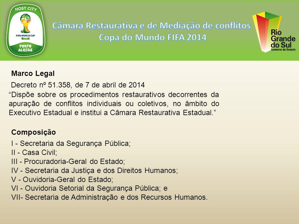 Protocolo Estadual de Diretrizes para Atuação das Forças de Segurança em Manifestações.
