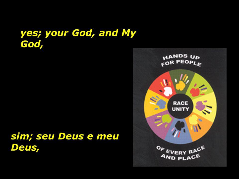 Nosso Deus, Our God,