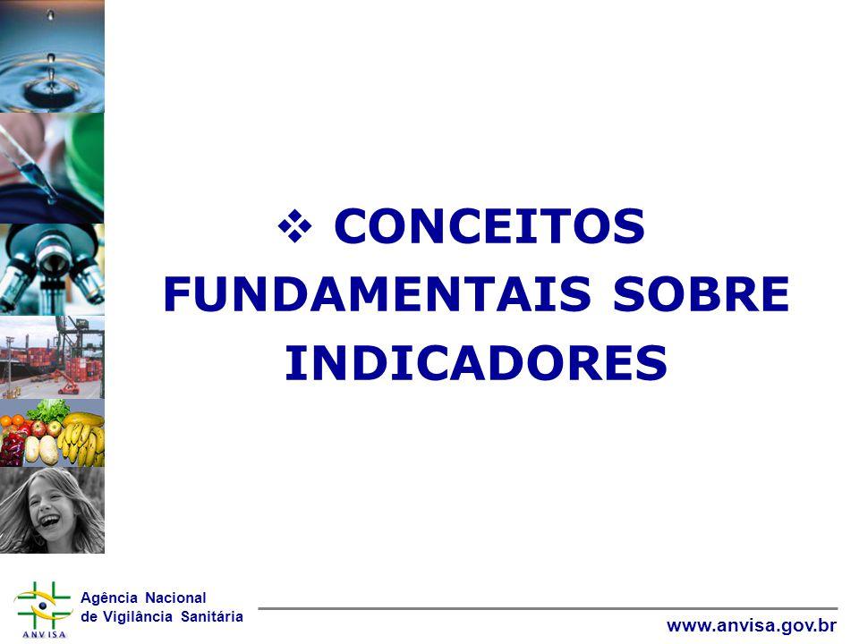 Agência Nacional de Vigilância Sanitária www.anvisa.gov.br 3a ETAPA: ANÁLISE DOS INDICADORES