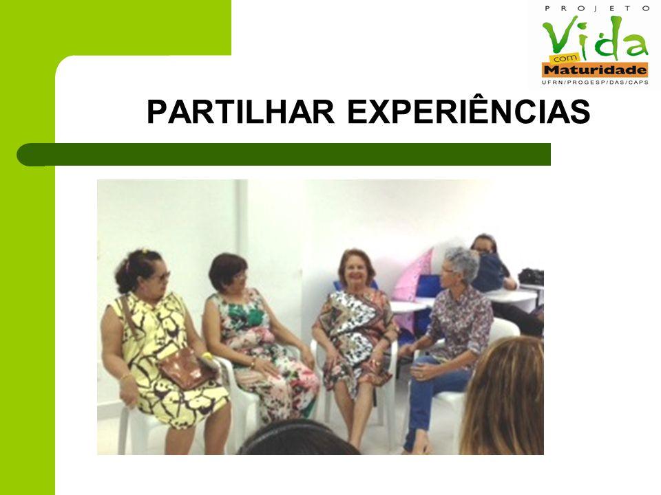 PARTILHAR EXPERIÊNCIAS