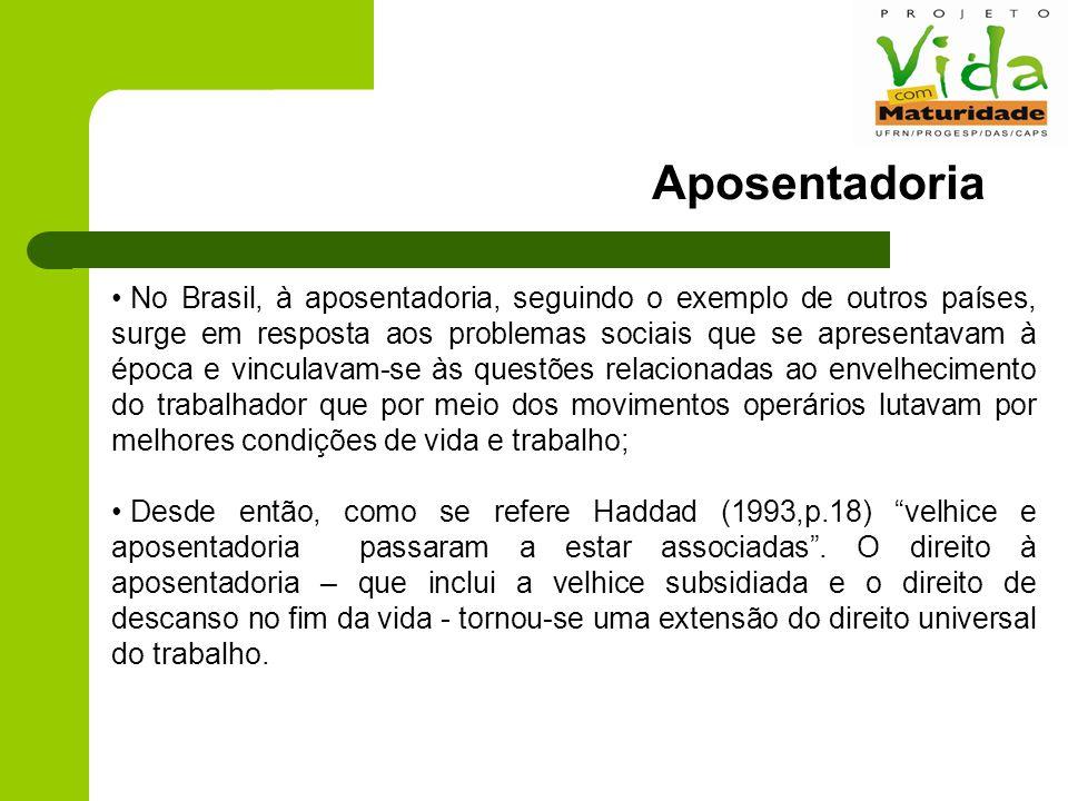DISSEMINAR APOSENTADO: SER ATIVO