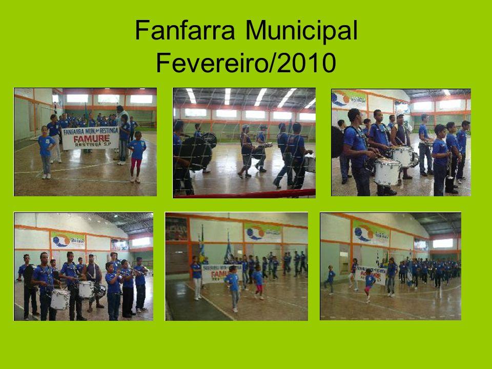 Fanfarra Municipal Fevereiro/2010