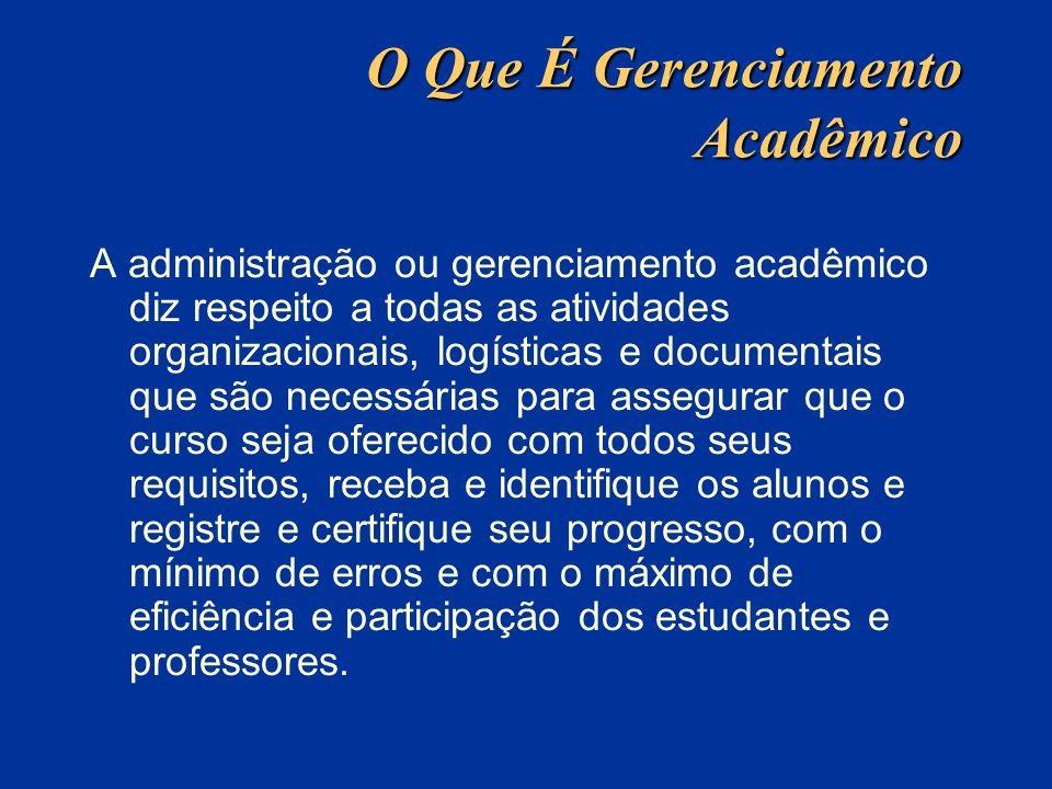 O Que É Gerenciamento Acadêmico A administração ou gerenciamento acadêmico diz respeito a todas as atividades organizacionais, logísticas e documentai