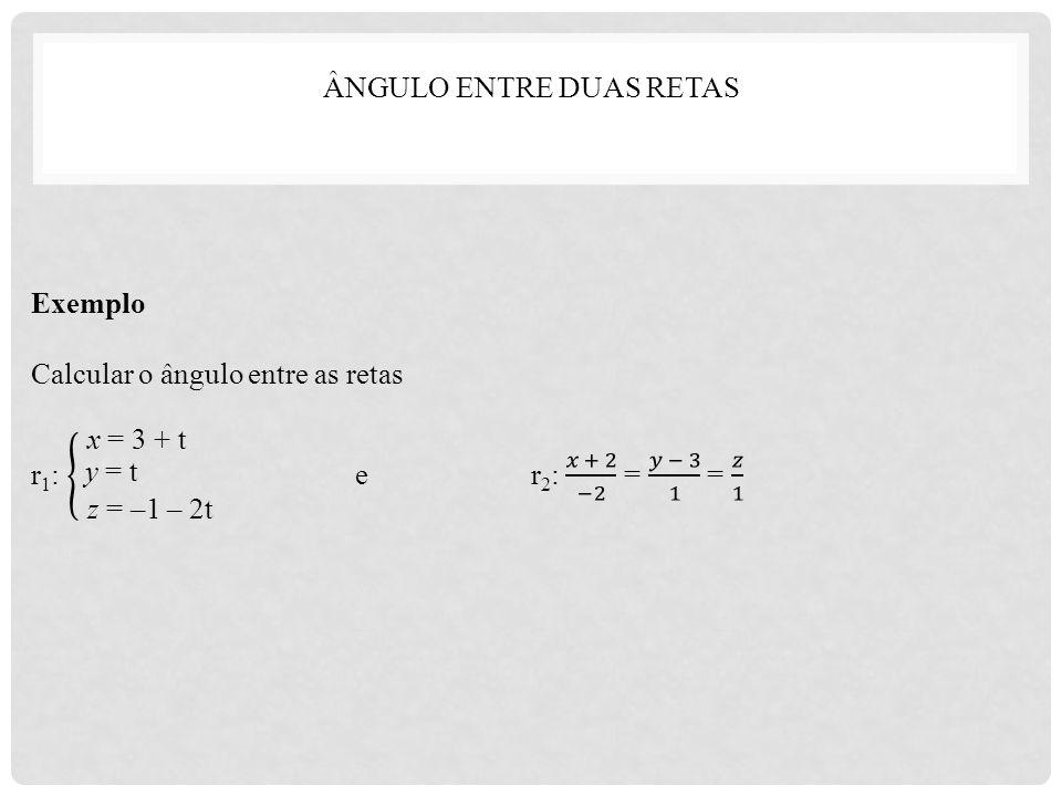 x = 3 + t y = t z = –1 – 2t