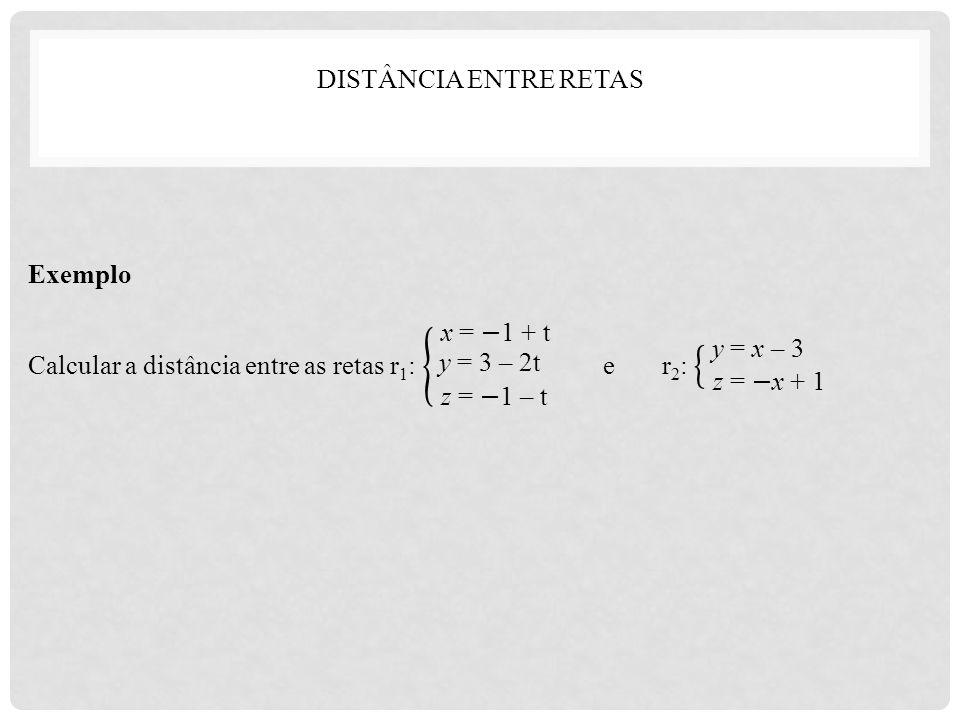 y = 3 – 2t y = x – 3