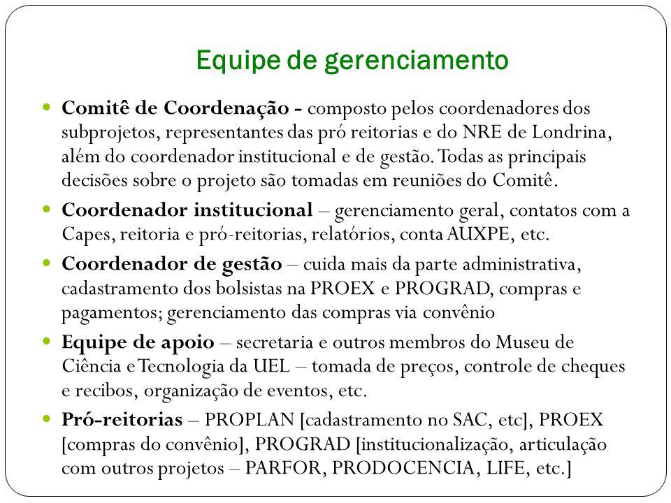 SITE PIBID UEL Site de divulgação do Projeto PIBID na Universidade Estadual de Londrina.