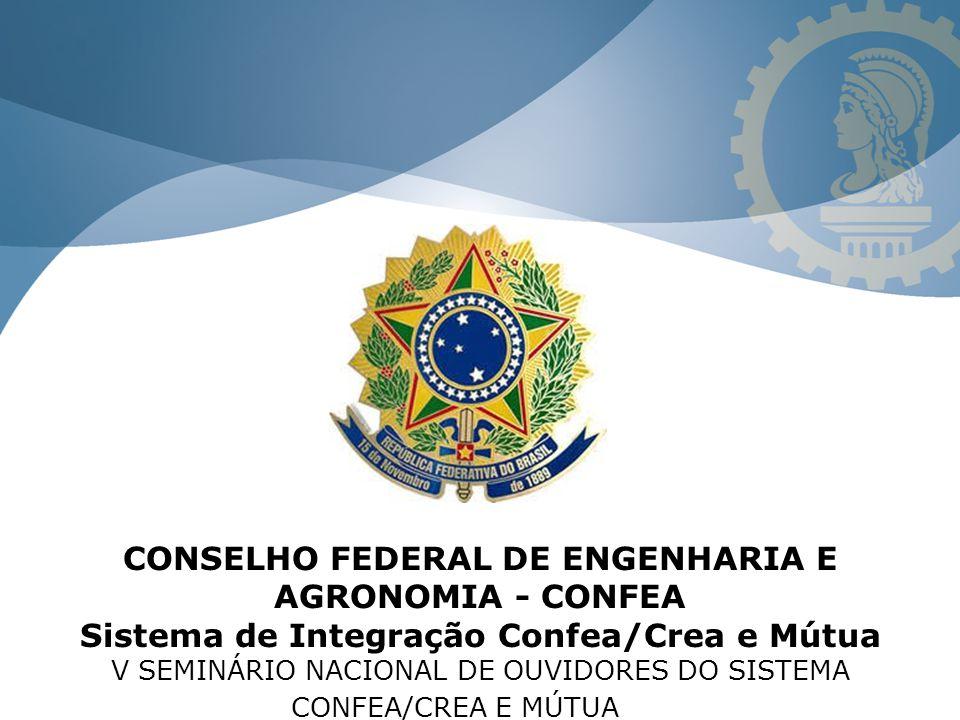 CREA AC CREA-AL CREA-AM CREA-AP Protocolo de um Processo A: 1234/2014: Quando aberto em um determinado Crea, será considerado, em todos os aspectos, como um controle de âmbito nacional.