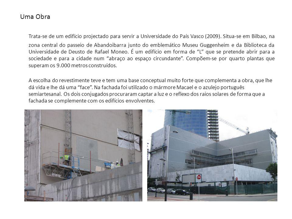 Uma Obra Trata-se de um edifício projectado para servir a Universidade do País Vasco (2009).