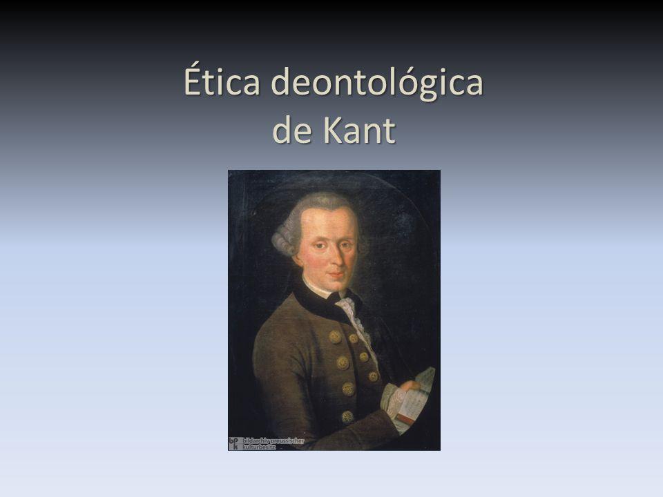 Kant Se seguirmos imperativos hipotéticos não conseguiremos saber qual é o nosso dever, pois um imperativo hipotético depende sempre de vários factores Uma obrigação (ou imperativo) é hipotética quando existe apenas em certas condições, mas não noutras.