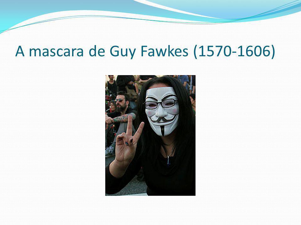 A mascara de Guy Fawkes (1570-1606)