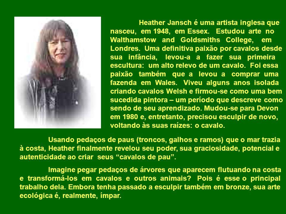 Heather Jansch é uma artista inglesa que nasceu, em 1948, em Essex.