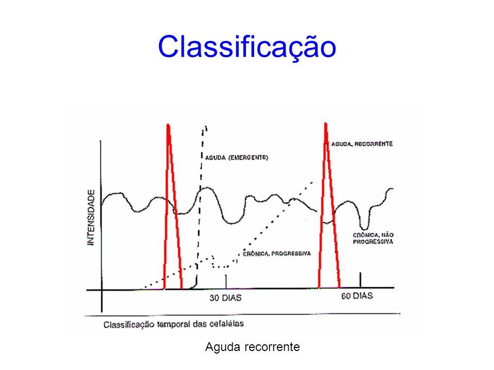 Condições importantes Migranea Cefaleia tipo tensional Cefaleias e salvas Cefaleia cervicogênica Neuralgias do trigêmeo Dores neuropáticas