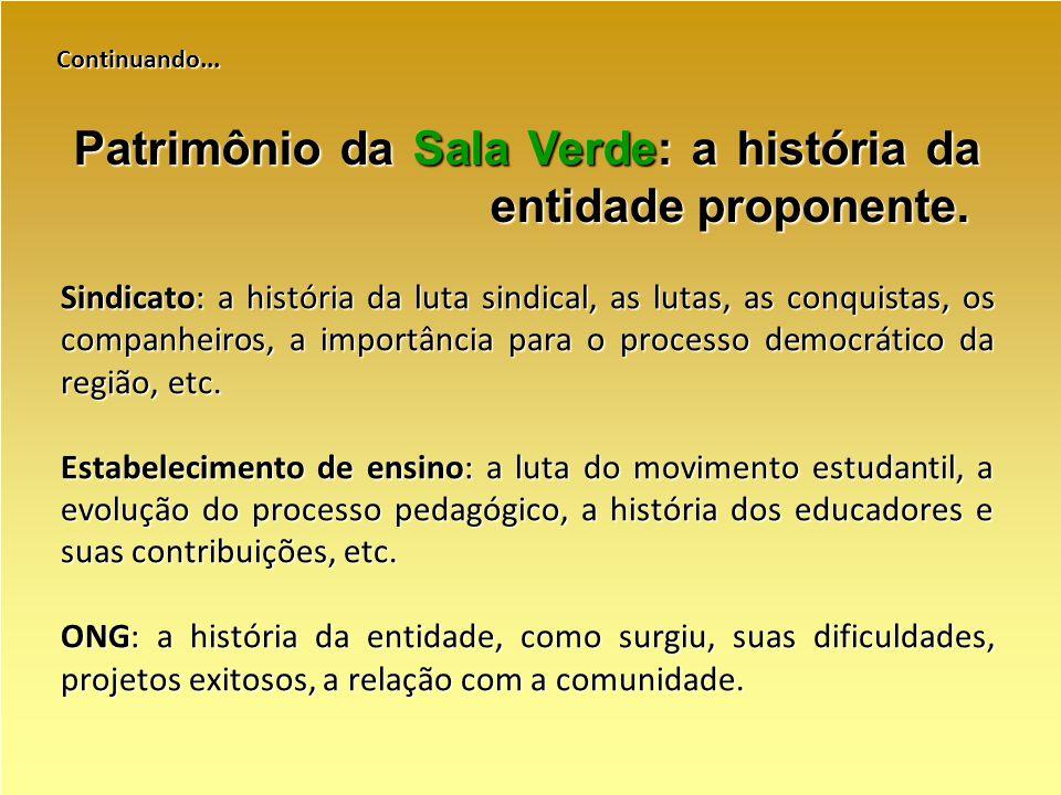 Continuando... Sindicato: a história da luta sindical, as lutas, as conquistas, os companheiros, a importância para o processo democrático da região,