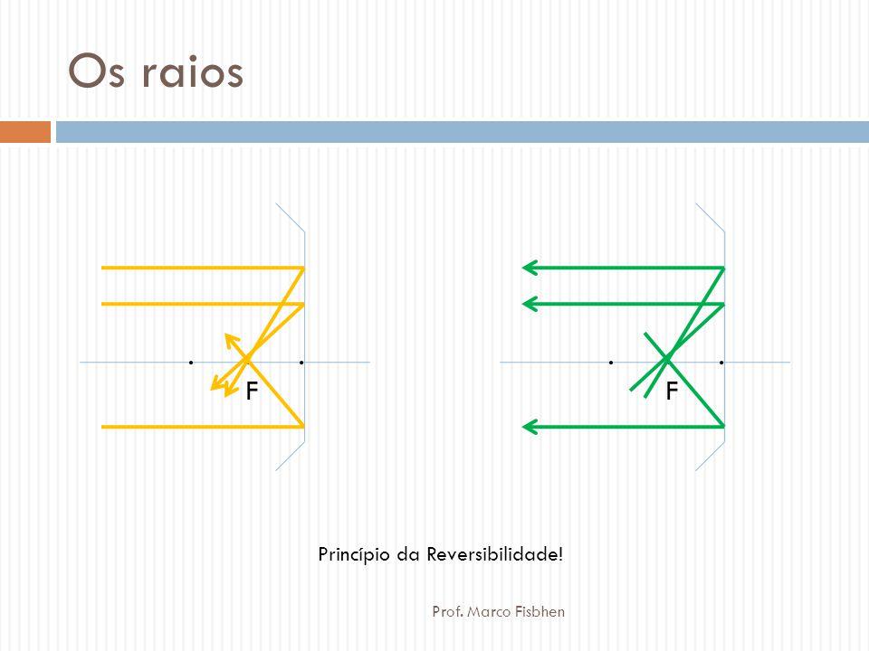 Os raios.F.F...F.F.. Princípio da Reversibilidade! Prof. Marco Fisbhen