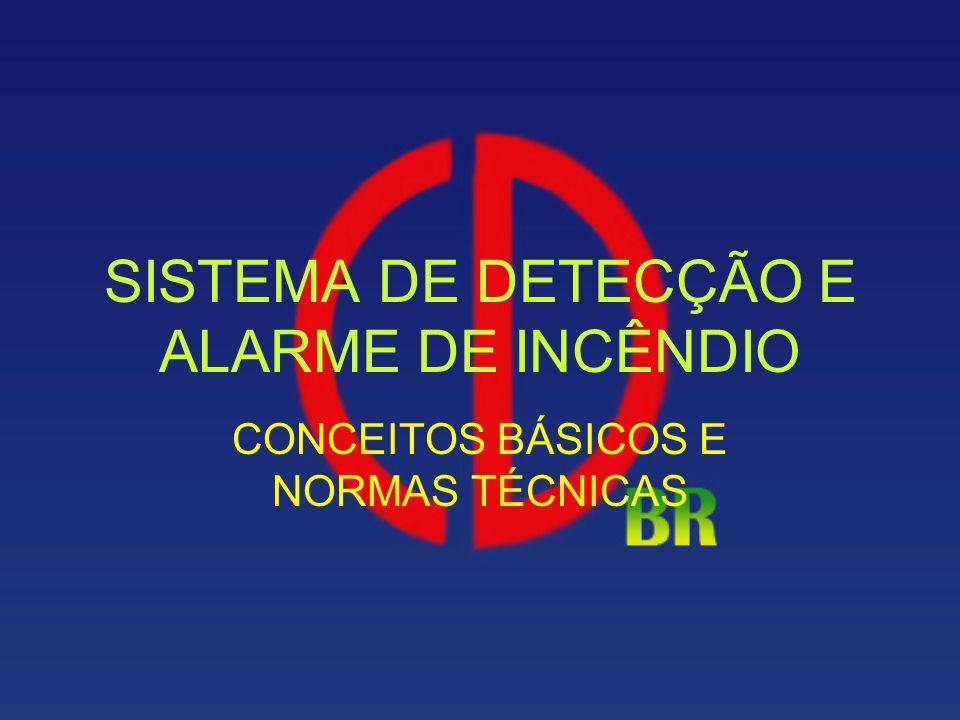 SISTEMA DE DETECÇÃO E ALARME DE INCÊNDIO CONCEITOS BÁSICOS E NORMAS TÉCNICAS
