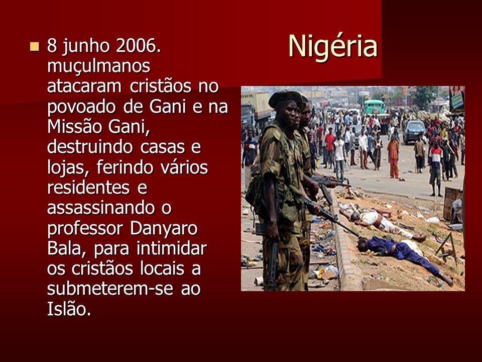 Nigéria Nigéria 8 junho 2006.
