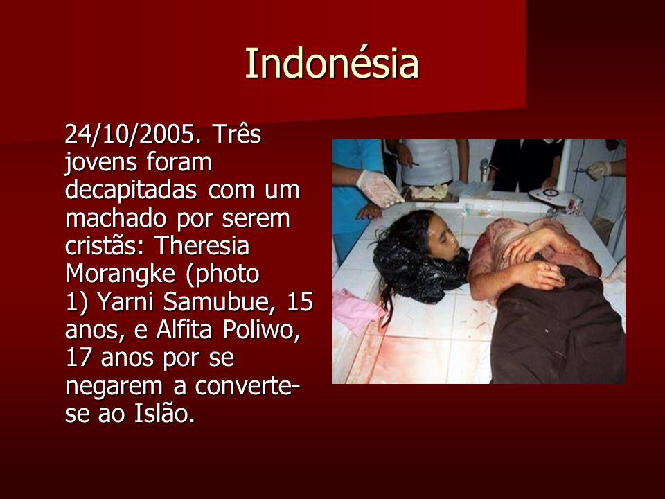 Indonésia 24/10/2005.
