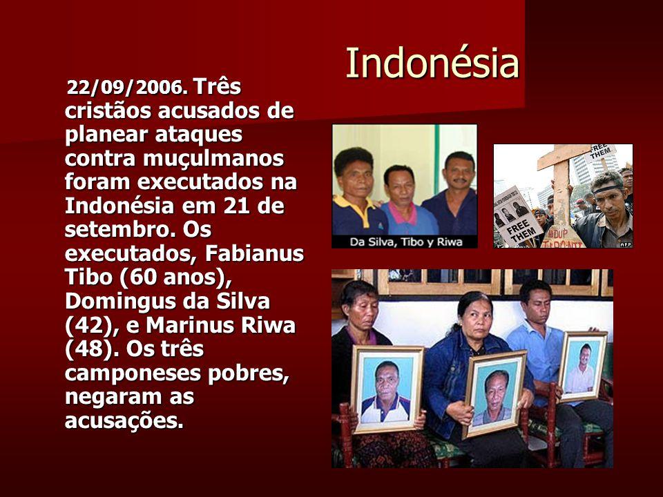 Indonésia Indonésia 22/09/2006.