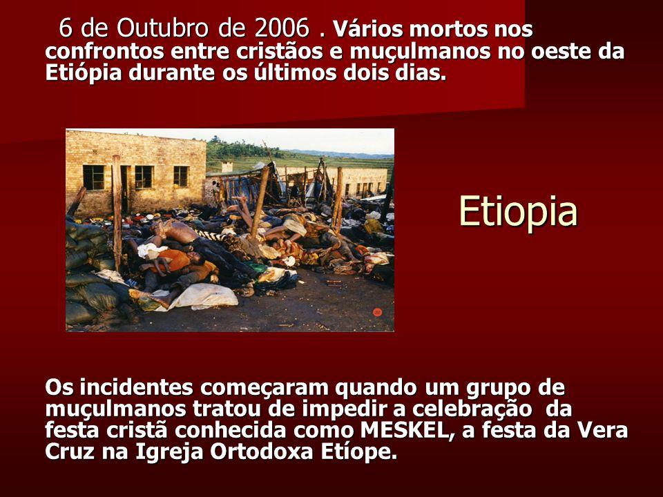 Etiopia 6 de Outubro de 2006.