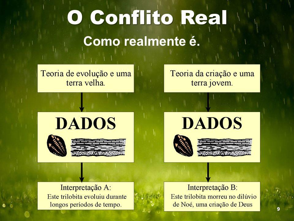 O Conflito Real Como realmente é. 9