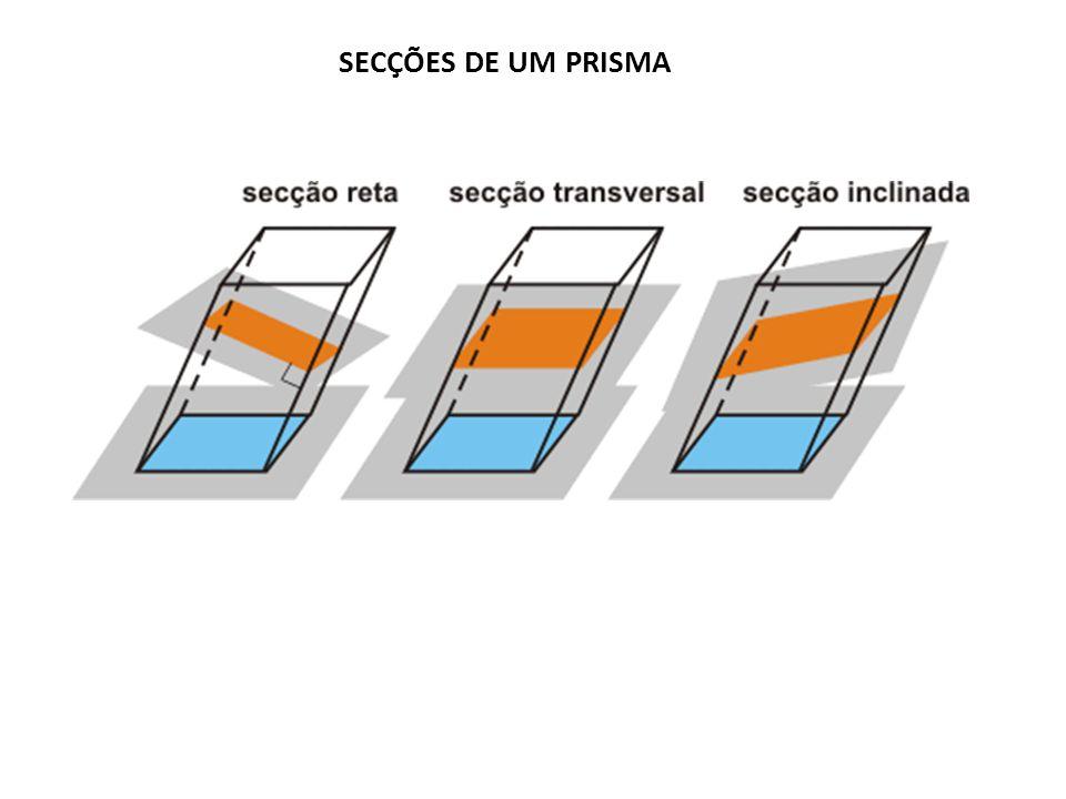 SECÇÕES DE UM PRISMA
