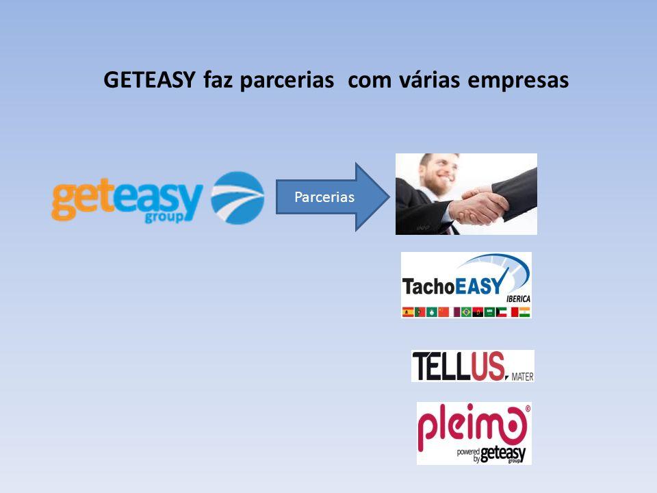 GETEASY faz parcerias com várias empresas Parcerias