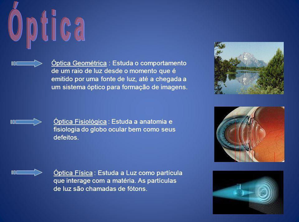 Fundamentos de Óptica Geométrica Professor Marcelo Alano